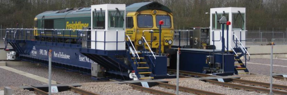 Maximising space in rail and tram depots often means the use of traversers, which allow access to  multiple tracks by an engine that is moved side to side.